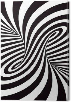 Tableau sur Toile Optical Art
