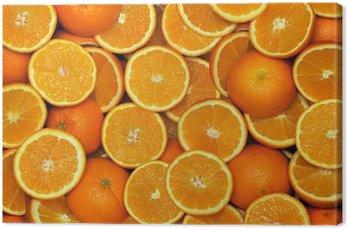 Tableau sur Toile Orange demi-