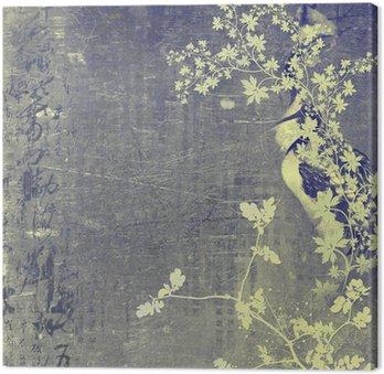 Tableau sur Toile Oriental background
