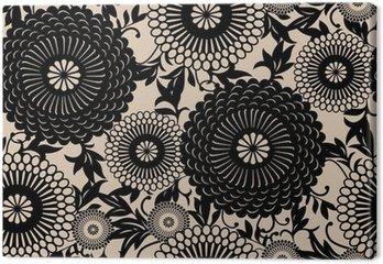 Tableau sur Toile Oriental motif floral