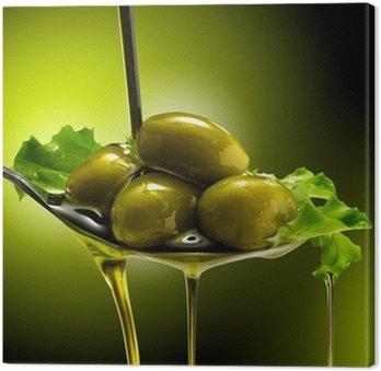 Tableau sur Toile Orientée objet e Olive