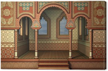 Tableau sur Toile Palais oriental