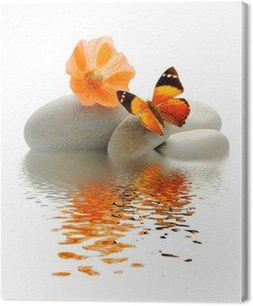 Tableau sur Toile Palette Papillon