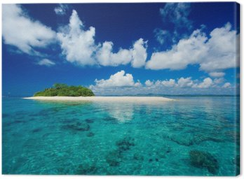 Tableau sur Toile Paradis tropical vacances île