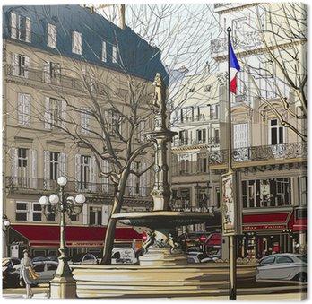 Tableau sur Toile Paris - Palais Royal