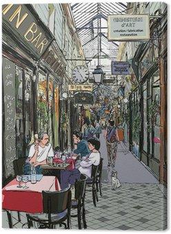 Tableau sur Toile Passage à Paris