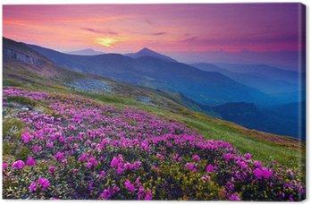 Tableau sur Toile Paysage de montagne