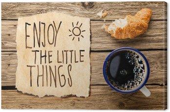 Tableau sur Toile Petit-déjeuner inspirée du matin