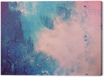 Tableau sur Toile Pink_and_blue_abstract_background