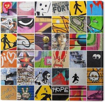 Tableau sur Toile Place Street Art