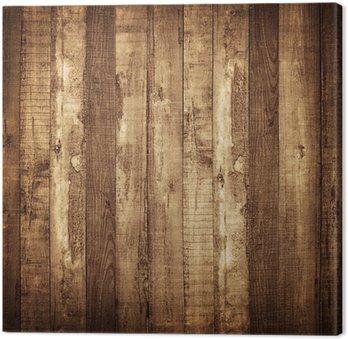 Tableau sur Toile Planche de bois arrière-plan