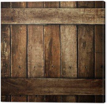 Tableau sur Toile Planche vieille bois