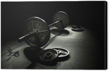 Tableau sur Toile Poids olympiques