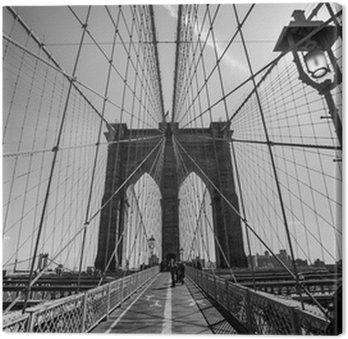 Tableaux sur toile drapeau des etats unis pixers nous - Toile pont de brooklyn ...