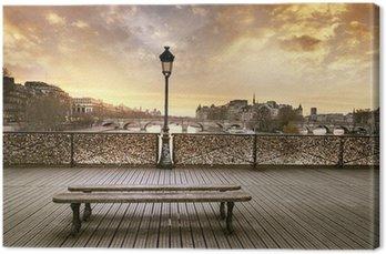 Tableau sur Toile Pont des arts, Paris