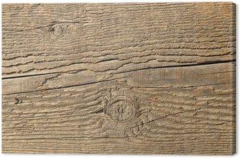 Tableau sur Toile Près la texture d'une poutre en bois.