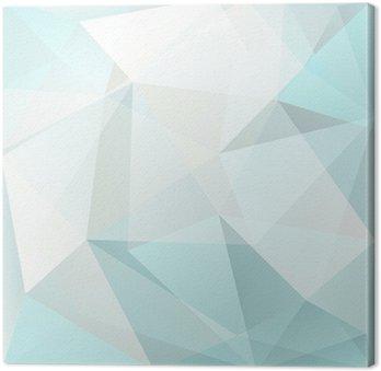 Tableau sur Toile Résumé triangle fond, vecteur