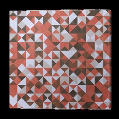 tableau sur toile r tro conception sans couture de motif g om trique simples formes abstraites. Black Bedroom Furniture Sets. Home Design Ideas