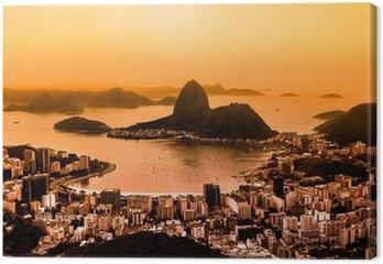 Tableau sur Toile Rio de Janeiro, Brésil