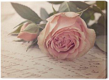 Tableau sur Toile Rose