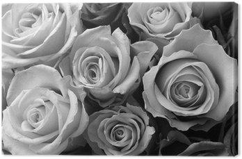 Tableau sur Toile Roses roses