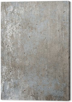 Tableau sur Toile Rugueux mur gris texturé grunge de béton, haute résolution