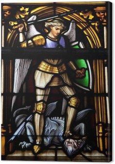 Tableau sur Toile Saint-Michel - saint patron de Bruxelles