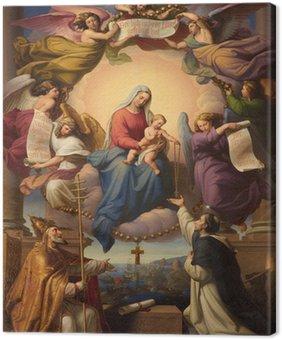 Tableau sur Toile Sainte Marie et le petit Jésus de l'église de Vienne