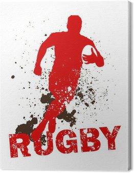 Tableau sur Toile Sale joueur de rugby