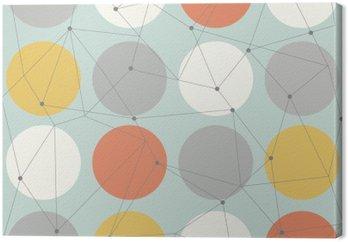 Tableaux sur toile scandinave pixers nous vivons pour - Tableau geometrique scandinave ...