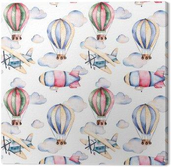 Tableaux sur toile petits nuages pixers nous vivons - Tableau avec papier peint ...
