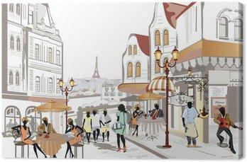 Tableau sur Toile Série de Street Views dans la vieille ville