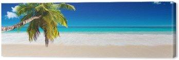 Tableau sur Toile Seychelles plage
