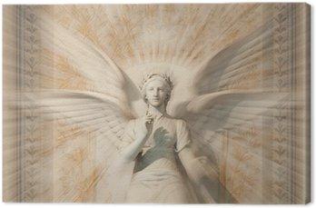 Tableau sur Toile Statue de la femme ange.