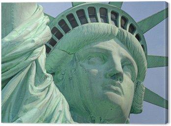 Tableau sur Toile Statue de la Liberté, Liberty Island, New York City