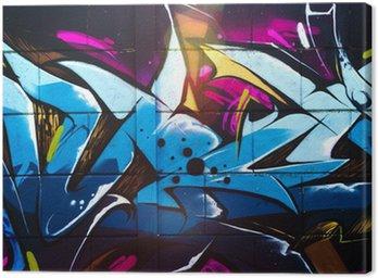 Tableau sur Toile Street art grafiti