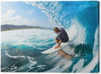 Tableau sur Toile Surf
