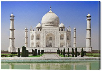 Tableau sur Toile Taj mahal agra