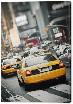 Tableau sur Toile Taxis new york