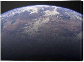 Tableau sur Toile Terre