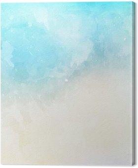 Tableau sur Toile Texture de fond aquarelle