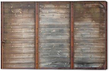 Tableau sur Toile Texture vieux bois