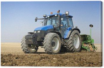 Tableau sur Toile Tracteur agriculture