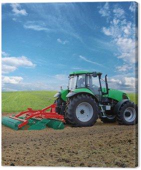 Tableau sur Toile Traktor