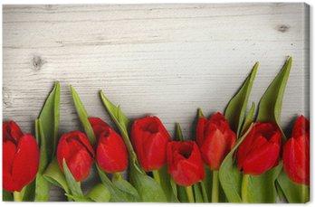Tableau sur Toile Tulipe bouquet
