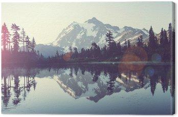 Tableau sur Toile Un lac pittoresque