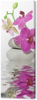 Tableau sur Toile Une branche d'orchidée