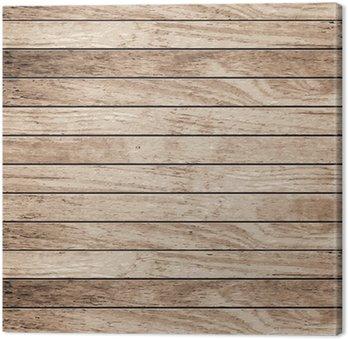 Tableau sur Toile Vector planche de bois arrière-plan