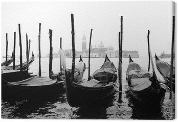 Tableau sur Toile Venise, gondoles