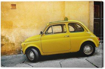 Tableau sur Toile Vieille voiture italienne